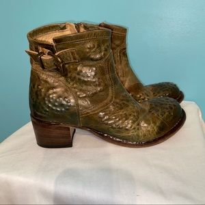 WE ARE the original green leather boots